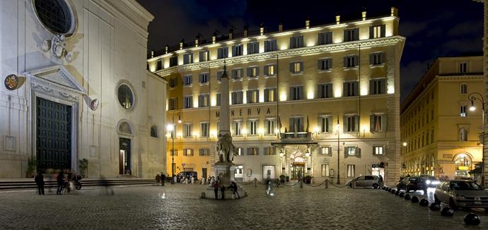 Roma Otel Tavsiyesi - Grand Hotel de La Minerve Roma
