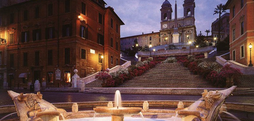 Rome Luxury Blog Piazza Di Spagna Spanish Steps Hotel Rome
