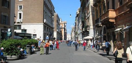 Rome luxury blog via del corso hotel rome luxury blog for Bershka roma via del corso