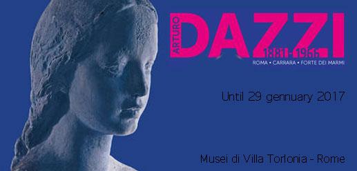 ARTURO DAZZI 1881/1966 ROME, CARRARA, FORTE DEI MARMI